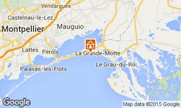 Carte La Grande Motte Appartement 6039