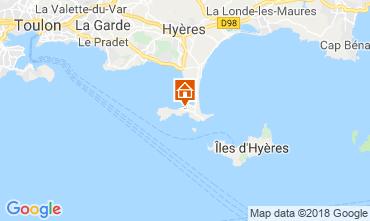 Carte Hyères Appartement 116393