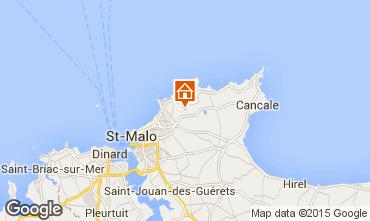 Carte Saint Malo Maison 7562