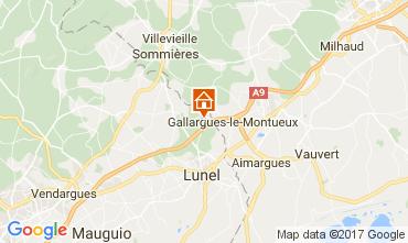 Carte La Grande Motte Villa 104733