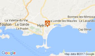Carte Hyères Maison 108801