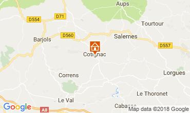 Carte Cotignac Maison 113630