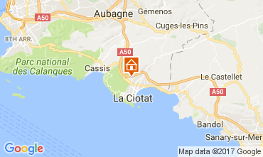 Carte La Ciotat Appartement 88233