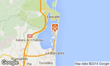 Carte Port Leucate Appartement 63130