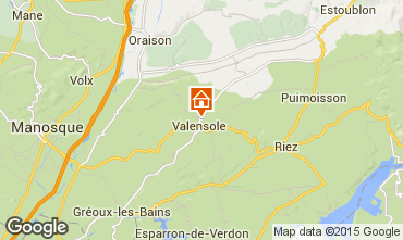 Carte Valensole Villa 73835