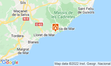 Carte Tossa de Mar Villa 112326