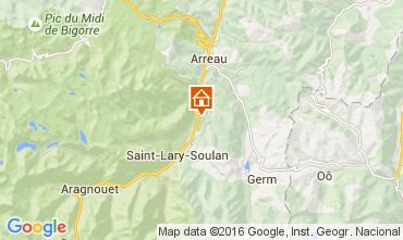 Carte Saint Lary Soulan Appartement 51814
