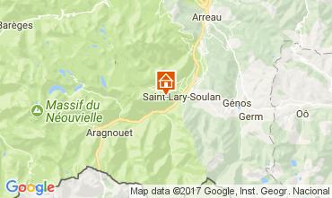 Carte Saint Lary Soulan Appartement 112164