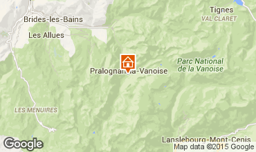 Carte Pralognan la Vanoise Chalet 93579