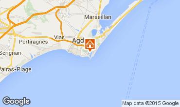 Carte Cap d'Agde Appartement 84198