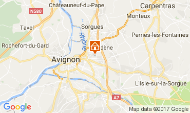 Carte Avignon Villa 111517