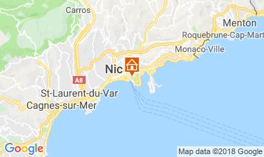 Carte Nice Villa 117272