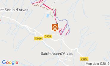 Carte Saint Jean d'Arves Appartement 119843