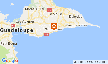 Carte Sainte Anne (Guadeloupe) Maison 112269