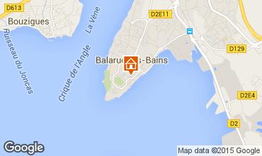 Carte Balaruc les Bains Appartement 64414