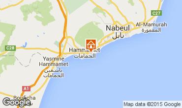 Carte Hammamet Villa 64711