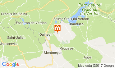 Carte Artignosc-sur-Verdon Maison 111099