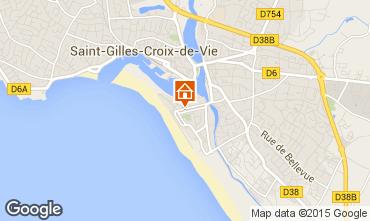 Carte Saint-Gilles-Croix-de-Vie Appartement 98354