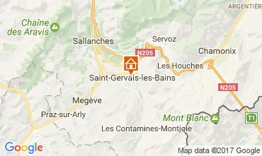 Carte Saint-Gervais-les-Bains Appartement 108922