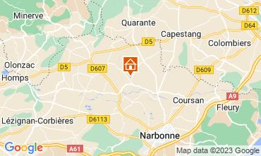 Carte Narbonne Maison 115058