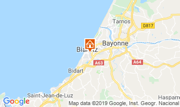Carte Biarritz Appartement 118611