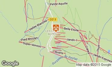 Carte Les 2 Alpes Appartement 59362