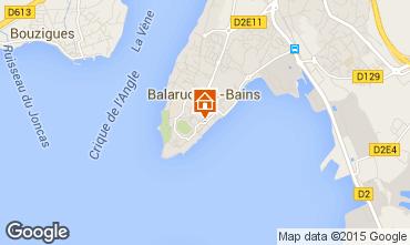 Carte Balaruc les Bains Appartement 18899