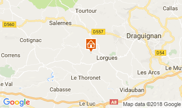 Carte Lorgues Villa 115618