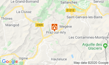 Carte Praz sur Arly Appartement 62967