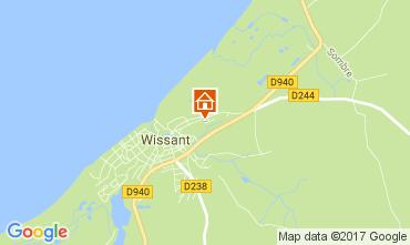 Carte Wissant Maison 108004
