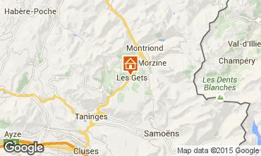 Carte Les Gets Chalet 1353