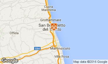Carte San Benedetto del Tronto Appartement 103205