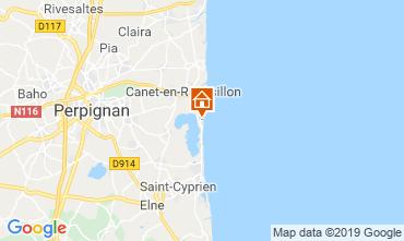 Carte Canet-en-Roussillon Appartement 118214