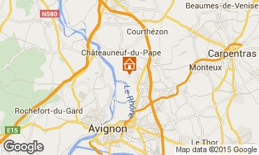 Carte Avignon Villa 93665