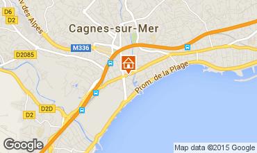 Carte Cagnes sur Mer Studio 81564