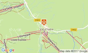 Carte Val d'Isère Studio 38836