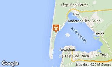 Carte Cap Ferret Villa 9375