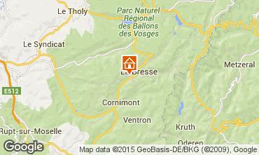 Carte La Bresse Appartement 30998