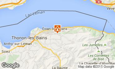 Carte Evian les Bains Appartement 92987