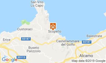 Carte Scopello Villa 80627
