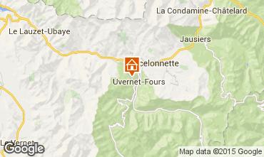Carte Pra Loup Chalet 76233