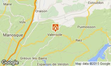 Carte Valensole Villa 101509