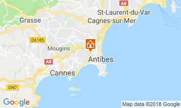 Carte Antibes Appartement 116212