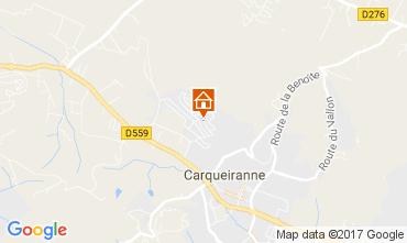 Carte Carqueiranne Villa 28887
