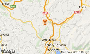 Carte Annecy Gite 58013