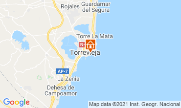 Carte Torrevieja Appartement 75230