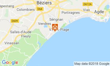 Carte Valras-Plage Maison 117077