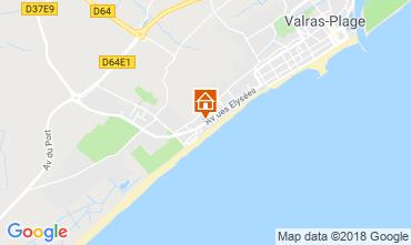 Carte Valras-Plage Villa 117077