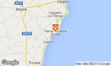Carte Santa Cesarea Terme Villa 78977