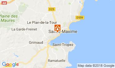Carte Sainte Maxime Villa 114176